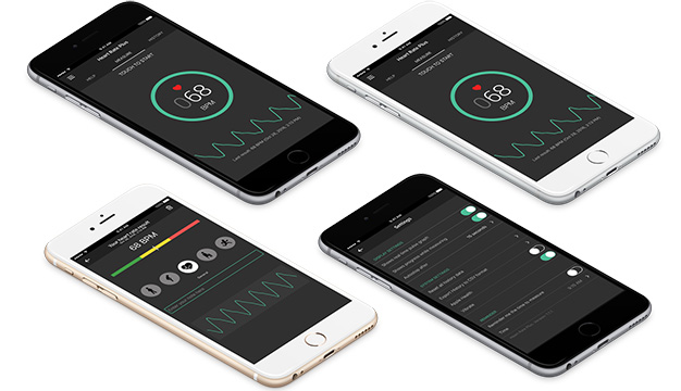 Heart Rate Plus app for iOS and Android